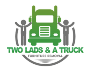 Two lads and a truck logo with link to their website